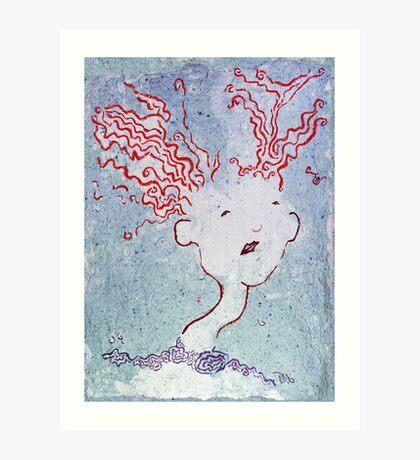 Uncertain People - Magdalena Art Print