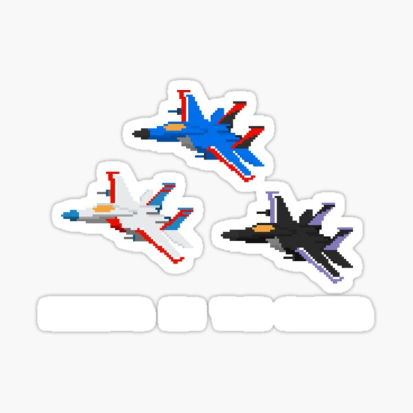 Robots in the Skies Sticker