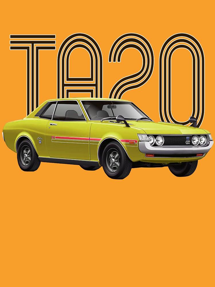 TA20 JDM Classic - Yellow by carsaddiction