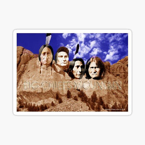Big Chiefs Mountain Sticker