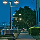 Twin Street Lamps by TJ Baccari Photography