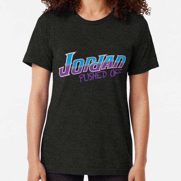 Jordania se alejó Camiseta de tejido mixto