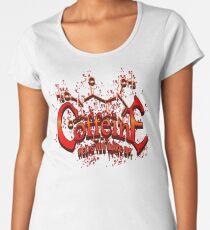 Coffeine Metal Style Women's Premium T-Shirt