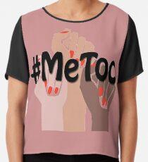 Ich auch, #metoo, sexuelle Belästigung, Frauen März Chiffontop