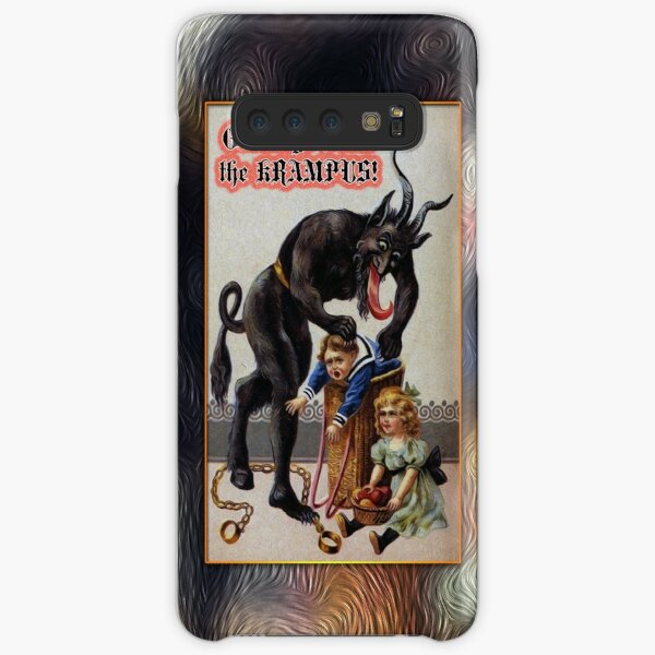 The Krampus is out to Get You Samsung Galaxy Snap Case