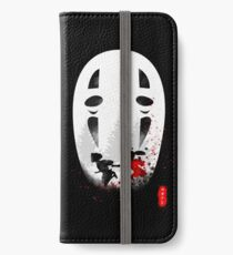 No face iPhone Wallet/Case/Skin