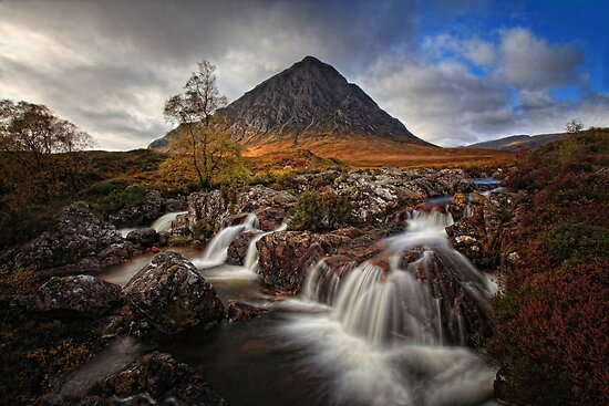 Buachaille Etive Mhor, Highlands, Scotland by Martina Cross