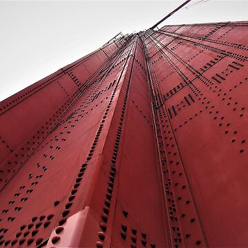 Nuts, Bolts, Rivets, Cables and Fog - Golden Gate Bridge, San Francisco and Marin Counties, CA  by RKreklow