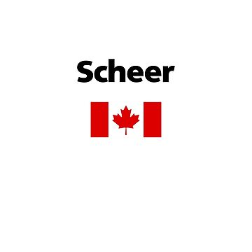 Andrew Scheer Canada Canadian Flag Light-Color by TinyStarCanada
