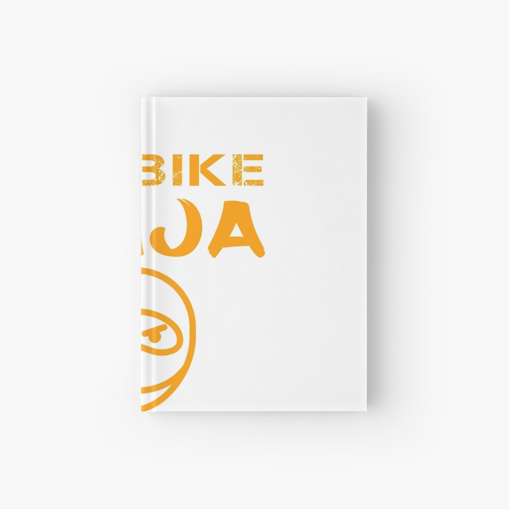 Dirtbike Ninja Funny Motocross Enduro Motorbike Gifts Hardcover Journal