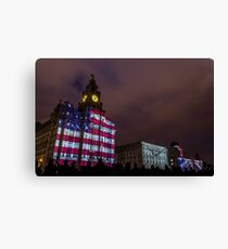 Stars, Stripes, and our Jack Canvas Print