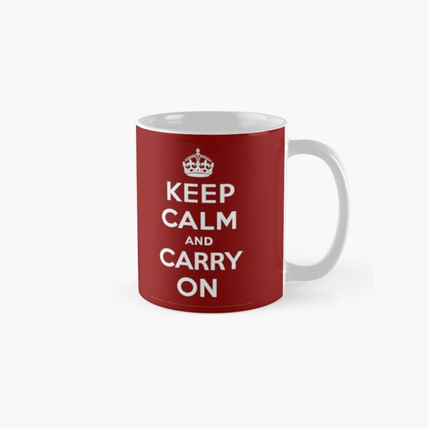 CARRY ON (KEEP CALM) Classic Mug