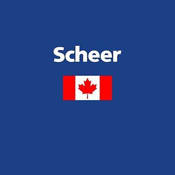 Andrew Scheer Canada Canadian Flag Dark Color by TinyStarCanada
