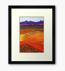 FLINDERS RANGES - Looking Back Framed Print