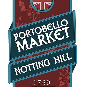 Portobello Market by santosblanco