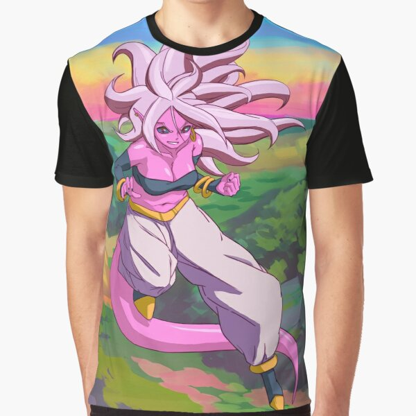 Android 21 Print Graphic T-Shirt