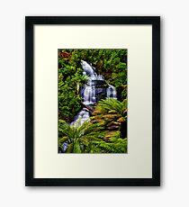 Triplet Falls Framed Print