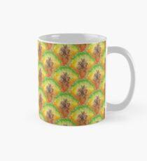 Pure Pineapple Pattern Classic Mug