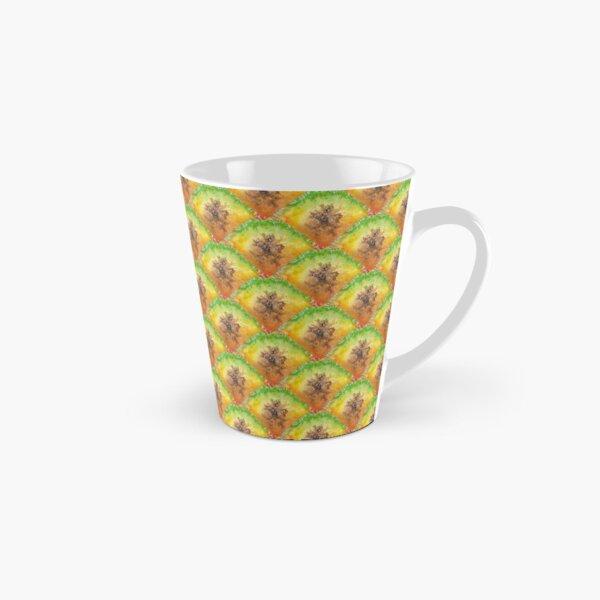 Pure Pineapple Pattern Tall Mug