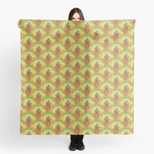 Pure Pineapple Pattern Scarf