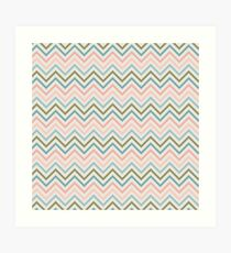 Striped Pattern Art Print