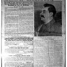 #front #page #Pravda #on23June1941 #including #printed #radio #speech #Molotov #Правда #pravdə #Truth #Russian #Broadsheet #Newspaper  by znamenski