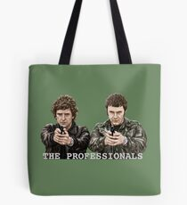 THE PROFESSIONALS - BODIE AND DOYLE DIGITAL PAINTING Tote Bag
