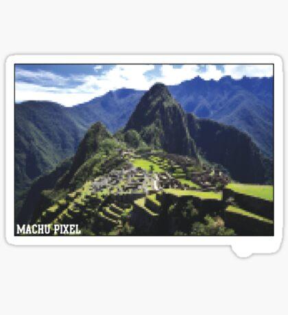 Machu Pixel Sticker