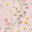 Dreamy Floral Pattern by Iisa Mönttinen