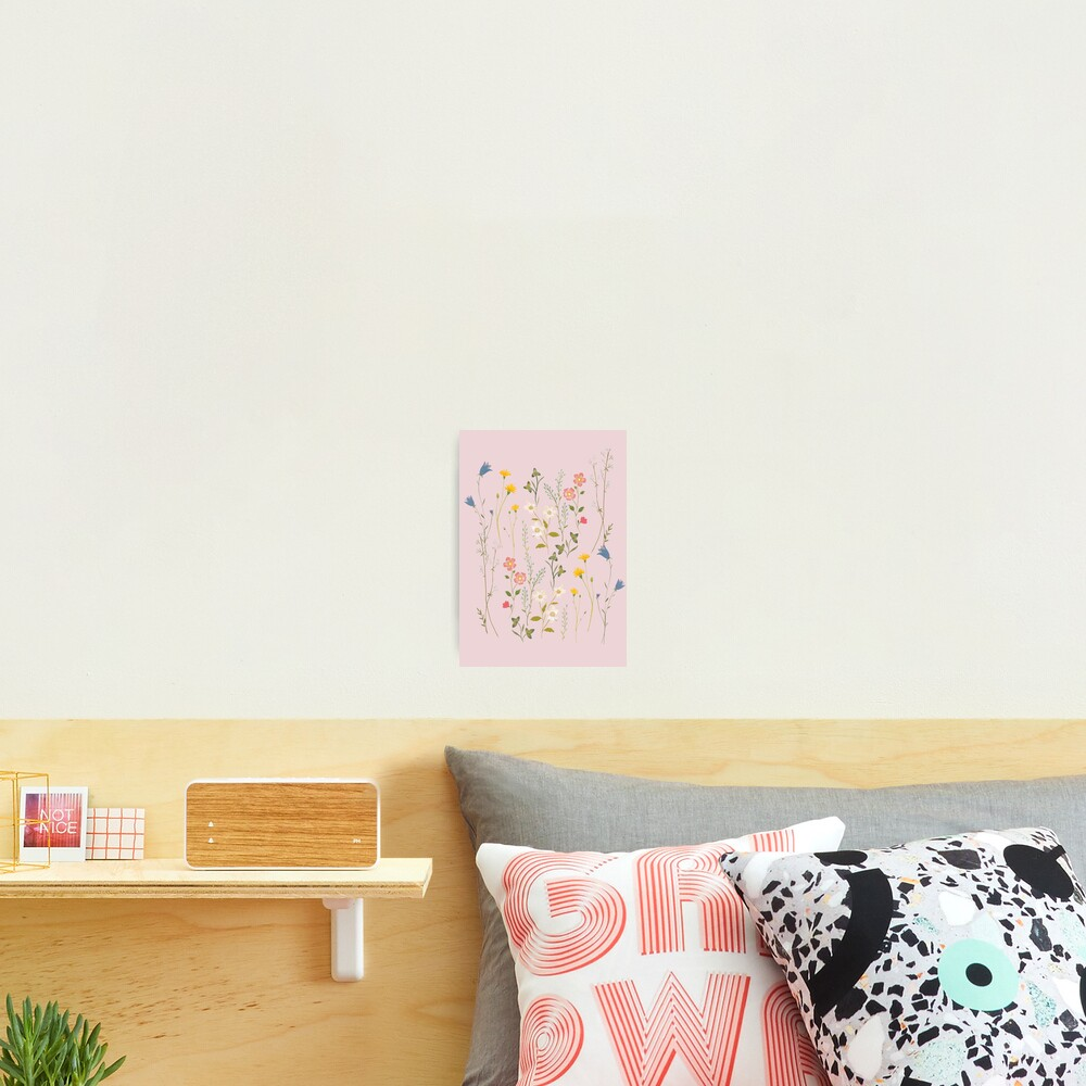 Dreamy Floral Pattern Photographic Print