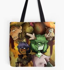 Wingbeat: out of the city walls book 1 poster Tote Bag