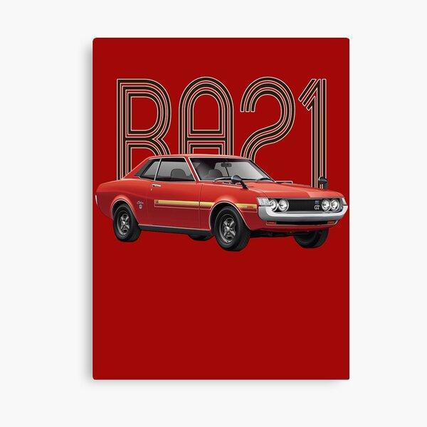 RA21 JDM Classic - Red Canvas Print