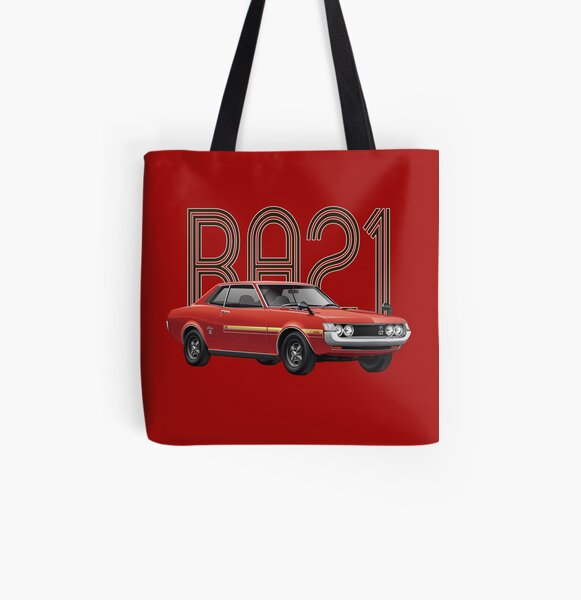 RA21 JDM Classic - Red All Over Print Tote Bag