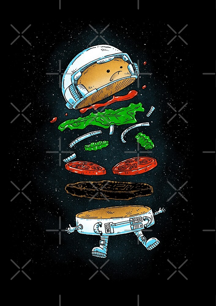The Astronaut Burger by nickv47