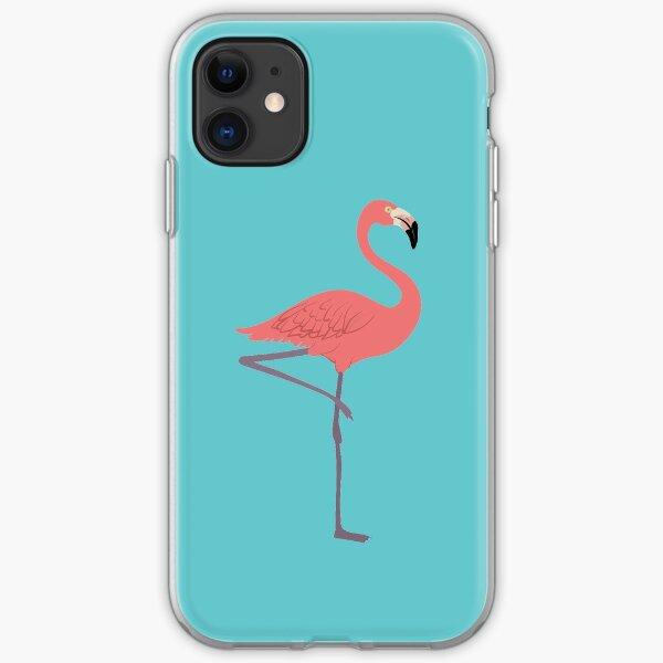 Pink Flamingo iPhone Soft Case