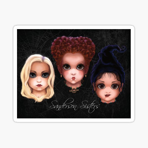 Sanderson Sisters (BITTY BADDIES) Sticker