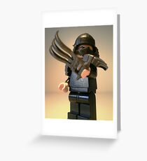 TMNT Teenage Mutant Ninja Turtles Master Shredder  Greeting Card