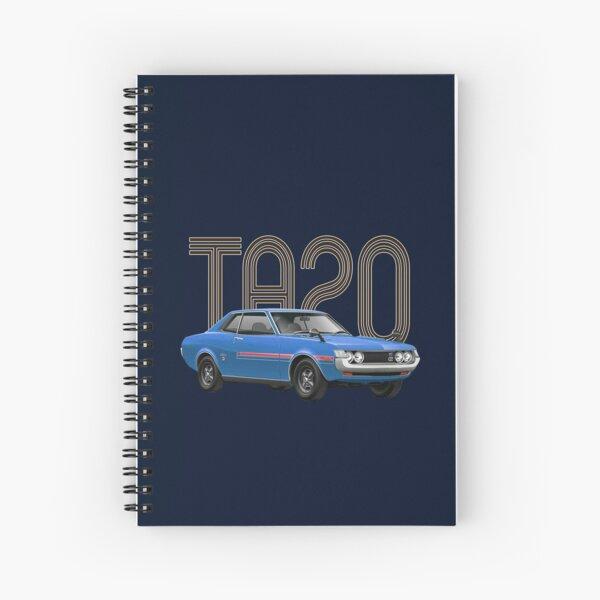 TA20 JDM Classic - Blue Spiral Notebook