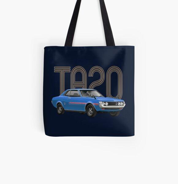 TA20 JDM Classic - Blue All Over Print Tote Bag