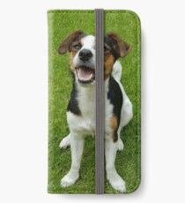 Happy Jack Russell iPhone Wallet/Case/Skin