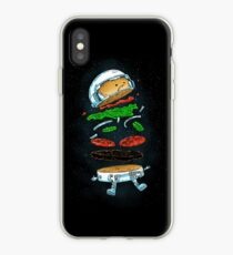 Der Astronaut Burger iPhone-Hülle & Cover