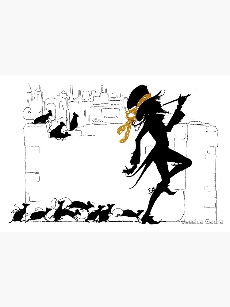 The Pied Piper of Hamelin by jessicagadra