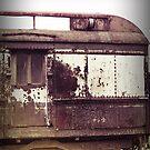 Pennsylvania old train by Jean Beaudoin