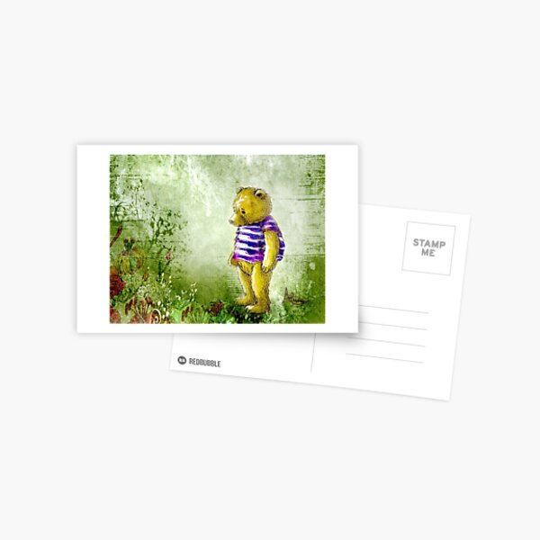 Botanical Bear Postcard