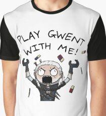 Joue avec moi T-shirt graphique
