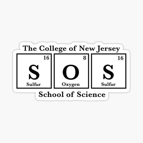 TCNJ school of science  Sticker