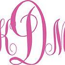 Personalized Monogram by Gabrielle Cohen
