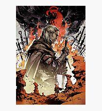 Geralt of rivia Artwork Photographic Print