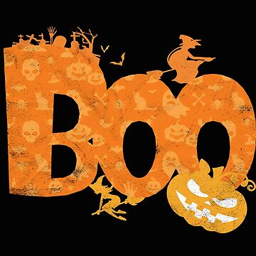 Halloween Pumpkin Witch Boo Gift Trick or Treat Spider Scary by art-i-fex