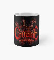 Coffeine Metal Style Mug